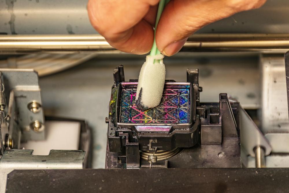 Nettoyage d'imprimante laser